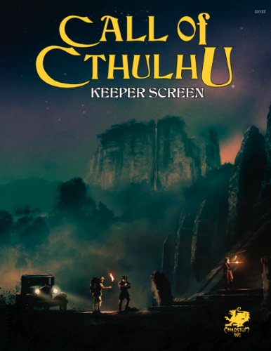 Call of Cthulhu 7th Edition: Keeper's Screen Pack